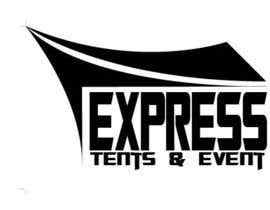 #26 cho Design a Logo for 'Express Tents & Events' bởi arinbengbeng