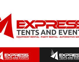 #39 for Design a Logo for 'Express Tents & Events' by cbarberiu