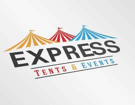 #101 pentru Design a Logo for 'Express Tents & Events' de către jenylprochina