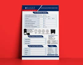 #126 for Design and Easy to Use Order Form / Flyer by marufkhan955
