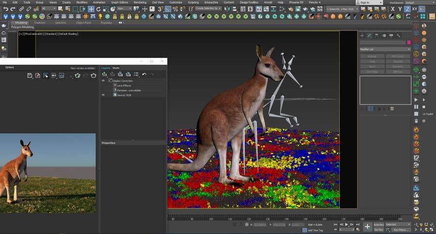Penyertaan Peraduan #                                        40                                      untuk                                         Create animated Australian animal characters