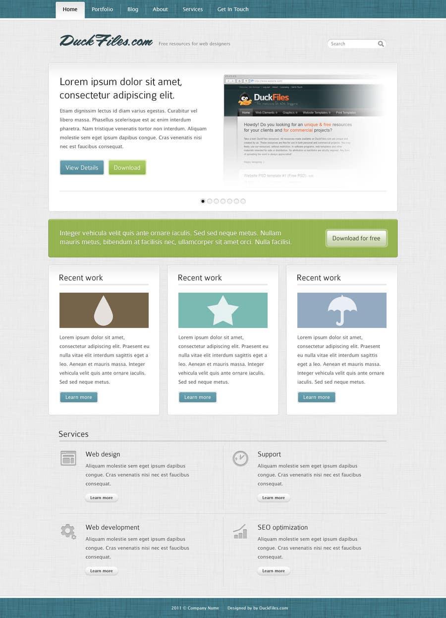 Kilpailutyö #3 kilpailussa Build 3 web pages with CSS