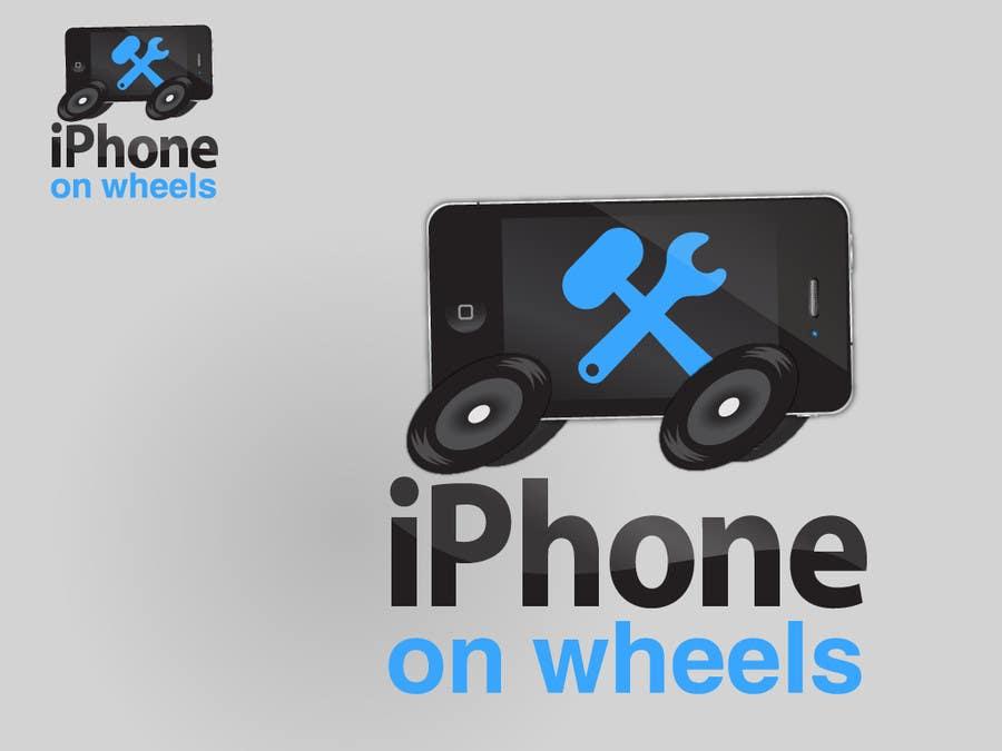 Kilpailutyö #                                        19                                      kilpailussa                                         Logo Design for iPhone Repair Company