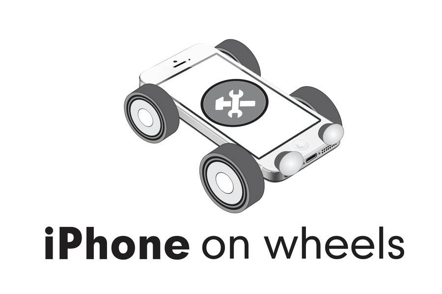 Kilpailutyö #32 kilpailussa Logo Design for iPhone Repair Company