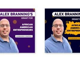 #18 for Instagram Graphic for Alex Branning's Grant For African American Entrepreneurs by Shakiiit