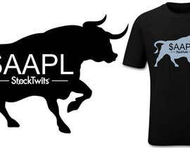 #10 para Design a T-Shirt for stock market por pipo2draw