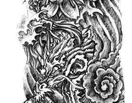 #55 untuk Right Bicep Tattoo Draft oleh faysalafi