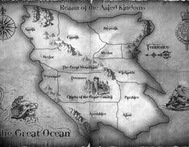 #28 para Design a fantasy map for my novel de sandrasreckovic