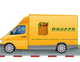 #8 for Create a modern and simple logo for delivery service app Droppr af pinturicchios1