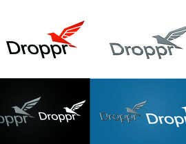 #14 for Create a modern and simple logo for delivery service app Droppr af AlejandroRkn