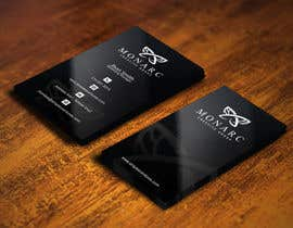 #69 dla Design a leading edge business card for an architectural company przez gohardecent
