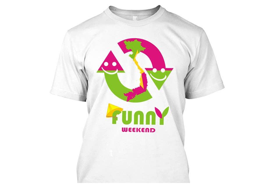 Zgłoszenie konkursowe o numerze #15 do konkursu o nazwie Thiết kế T-Shirt for Funny Weekend