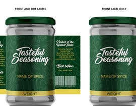 #89 for Come up with brand name + jar label + logo for a condiment/spices selling company by enddesigns032