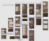 Graphic Design Contest Entry #34 for Design a Mobile App Screen Layout Plan