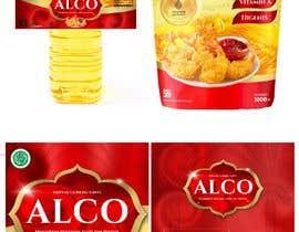 #66 untuk Desain packaging minyak goreng sawit merk ALCO oleh heyhams