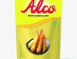 #77 untuk Desain packaging minyak goreng sawit merk ALCO oleh iedien819