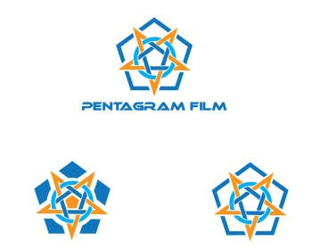 #57 for Design a logo for Pentagram Film by silverhand00099