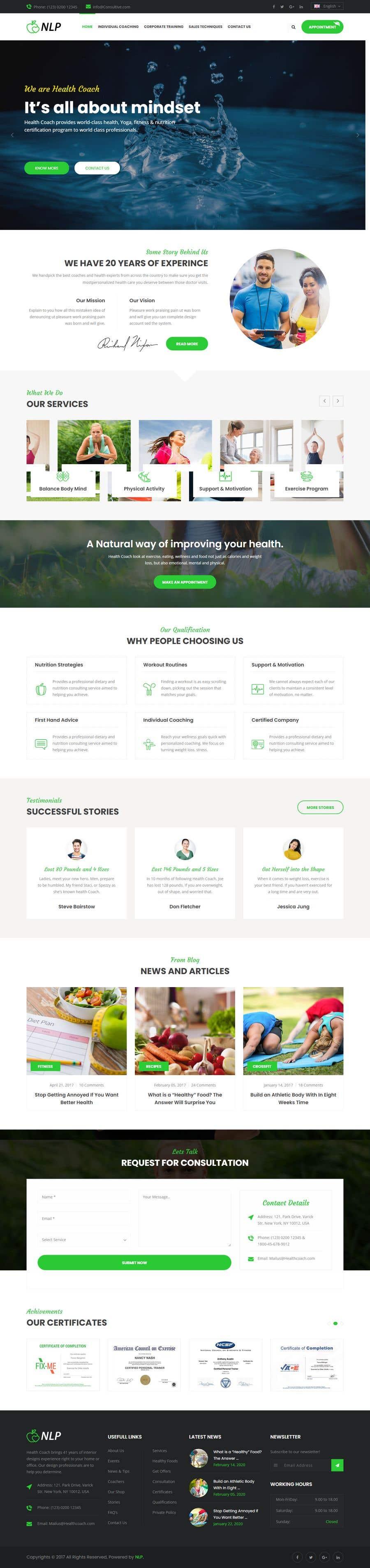 Penyertaan Peraduan #                                        34                                      untuk                                         design and build life coaching website