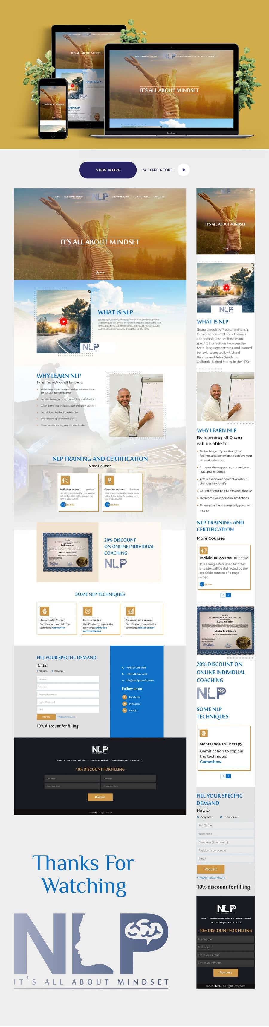 Penyertaan Peraduan #                                        32                                      untuk                                         design and build life coaching website