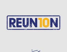 #57 for Create a logo for a '10 year reunion' using 'Reun10n' text by jcblGD