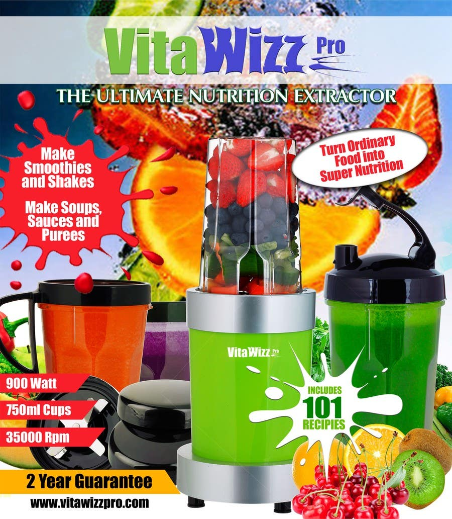 Contest Entry #7 for VitaWizz Pro Box