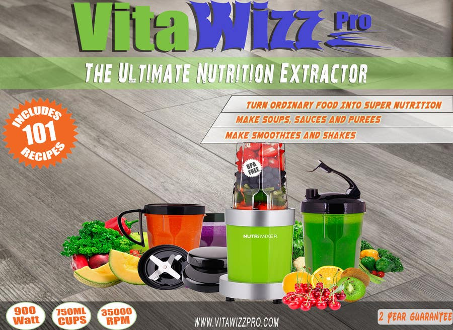 Konkurrenceindlæg #                                        12                                      for                                         VitaWizz Pro Box