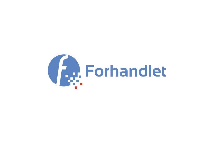 Inscrição nº                                         13                                      do Concurso para                                         Design logo for Forhandlet