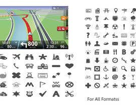 #1 för Icons design for a GPS application av AlejandroRkn