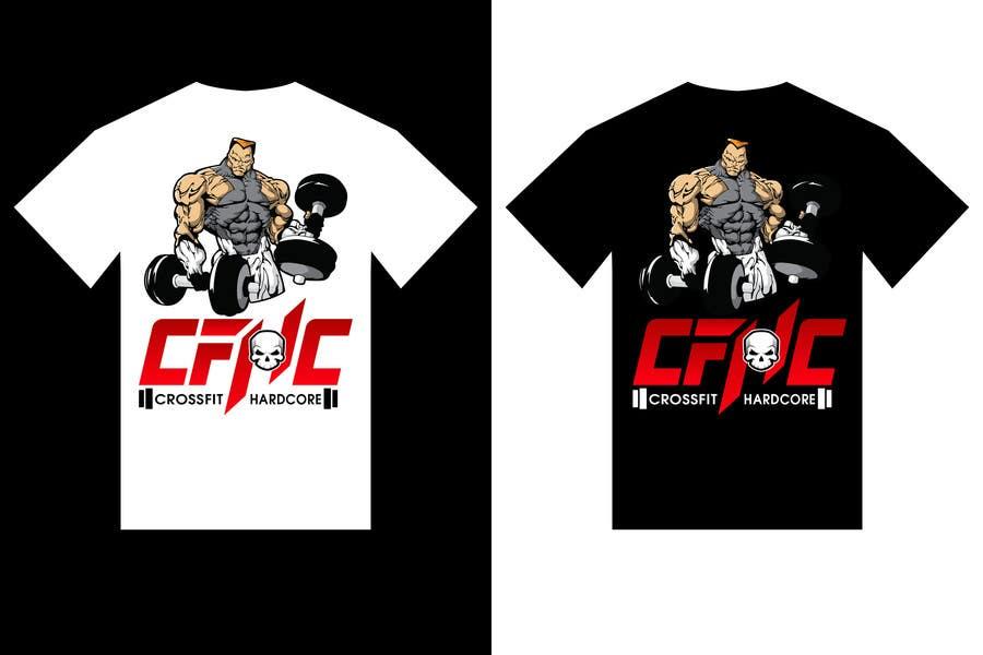 Inscrição nº 25 do Concurso para Simple T-shirt Design for gym. We will buy multiple designs (3 - 5).