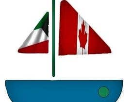 #6 for we are group of people who lived in kuwait, we are renting boats in Canada, we wanted a logo that is a boat with both flags of kuwait and canada (like shown in the picture), we will post it as 9 instagram photos and as the DP! please keep it very simple. af roobanrollins