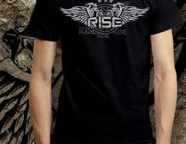 #51 untuk T-shirt Design for RiSE (Ride in Style, Everyday) oleh bulbulalam