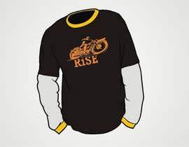 dyv tarafından T-shirt Design for RiSE (Ride in Style, Everyday) için no 40