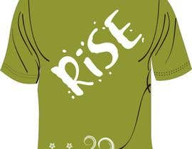 wantnewjob tarafından T-shirt Design for RiSE (Ride in Style, Everyday) için no 24
