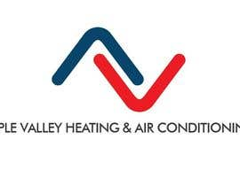 #34 untuk Logo Design for Apple Valley Heating & Air Conditioning oleh alivadesigns