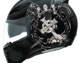 #40 for I need some Graphic Design for a Motorcycle Helmet by Martinnelmb