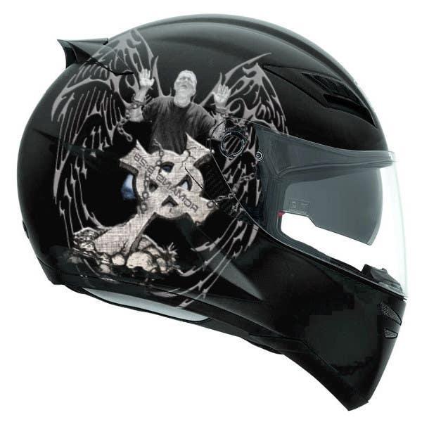 Participación en el concurso Nro.                                        41                                      para                                         I need some Graphic Design for a Motorcycle Helmet
