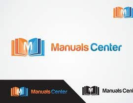 #168 para Logo Design for ManualsCenter (e-commerce site) por shivamsharmalko