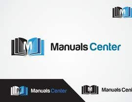 #174 para Logo Design for ManualsCenter (e-commerce site) por shivamsharmalko