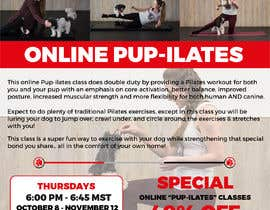 """#210 for Flyers for my dog training class """"Pup-ilates"""" by alakram420"""