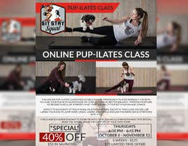 """#205 for Flyers for my dog training class """"Pup-ilates"""" by NikkonMondal"""