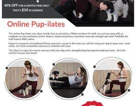"""#194 for Flyers for my dog training class """"Pup-ilates"""" by itsmonowar"""