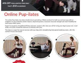 """#196 for Flyers for my dog training class """"Pup-ilates"""" by itsmonowar"""