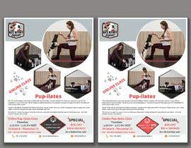 """#215 for Flyers for my dog training class """"Pup-ilates"""" by itsmonowar"""