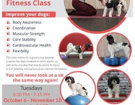 #236 untuk Flyer for my Canine Fitness Training Class oleh itsmonowar