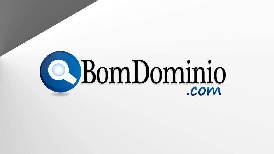 Inscrição nº 15 do Concurso para Logo Design for BomDominio.Com web  site.
