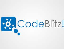 #58 untuk Logo Design for 'CodeBlitz' software development innovation sprint oleh taganherbord