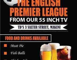 #40 для Flyer for Sports Bar от chikjim