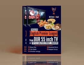 #30 для Flyer for Sports Bar от QasimAs