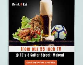 #31 для Flyer for Sports Bar от mamatapatel380