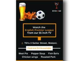 #39 для Flyer for Sports Bar от PriyamCb